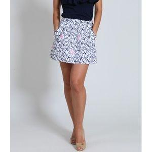 NWOT LILLY PULITZER Mimosa Skirt Anchor Small Ahoy